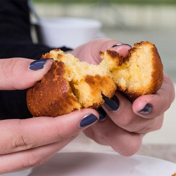 Deliciosos queques - Pão de Gimonde